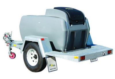 Rapid Spray Genius Diesel Trailer