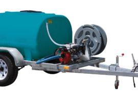 1000L Water Fire fighting trailer single axle