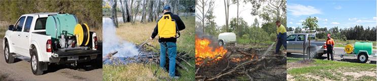 Bushfire Store Fire Fighting Equipment