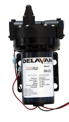 12V Spray Pump Delavan Pump 15.2 litres 60 psi