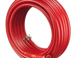 Red PVC 19mm fire fighting hose