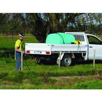 Rapid farm spray units