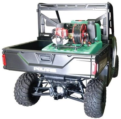 Spray Ranger Sprayer Tank In UTV