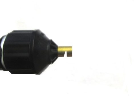 Brass boomless nozzle tip