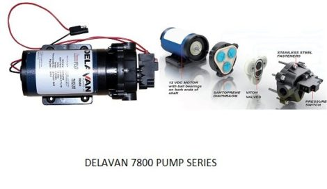 12 volt Delvan Sprayer pumps