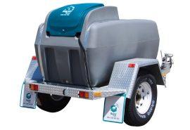 Diesel Trailer for onsite diesel refueling