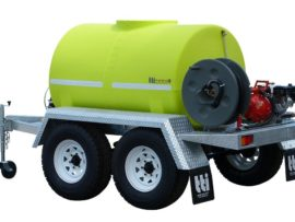 Mobile Fire Fighting Trailer