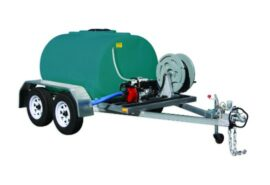 Rapid fire marshal trailer dual axle 1000 and 1200 litre