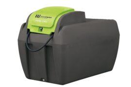Slimline Diesel Tank for portable diesel tank refuelling