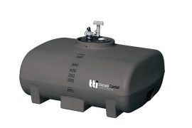 Poly diesel tank for utes