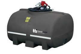 1000 Diesel Tank with pump hose and nozzle
