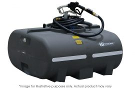 800 Litre Diesel Tank with pump nozzle and hose