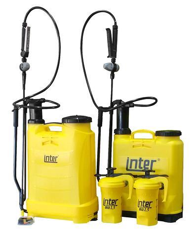 Inter hand and backpack sprayer range