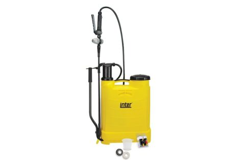 Inter backpack chemical weed sprayer